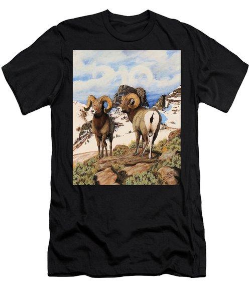Chimney Rock Thunderheads Men's T-Shirt (Athletic Fit)