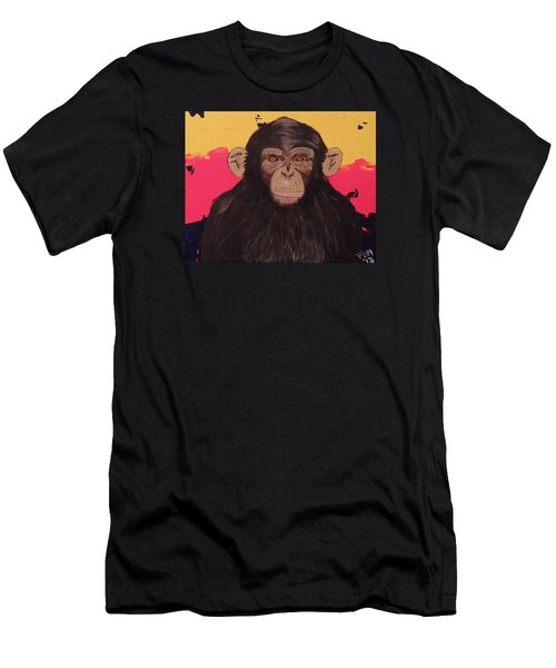 Chimp In Prime Men's T-Shirt (Athletic Fit)