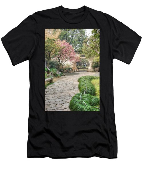 China Courtyard Men's T-Shirt (Athletic Fit)