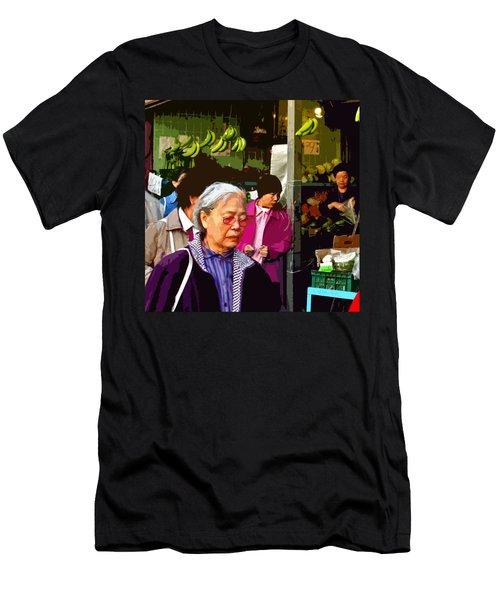 Chinatown Marketplace Men's T-Shirt (Athletic Fit)