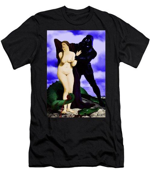 Chivalry Men's T-Shirt (Slim Fit) by Sasha Keen