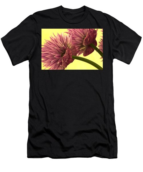 Chive Macro Beauty Men's T-Shirt (Athletic Fit)