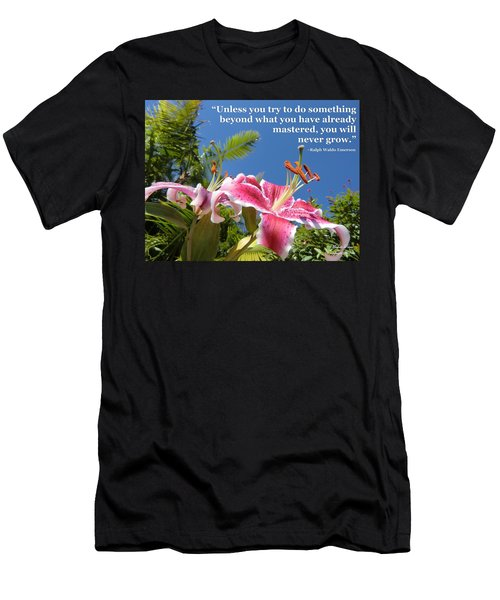 Choose Your Quote Choose Your Picture 18 Men's T-Shirt (Athletic Fit)