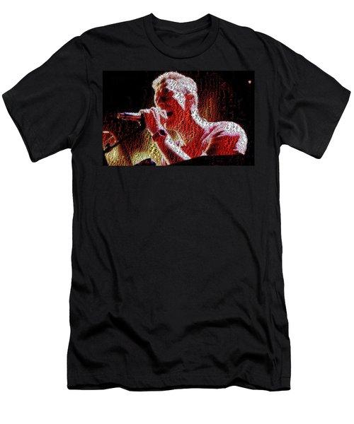 Chris Martin - Montage Men's T-Shirt (Athletic Fit)