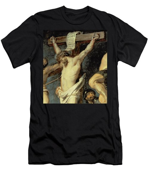 Christ Between The Two Thieves, 1620 Men's T-Shirt (Athletic Fit)