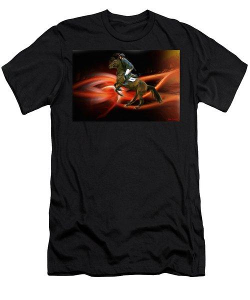 Christian Heineking On Horse Nkr Selena Men's T-Shirt (Athletic Fit)