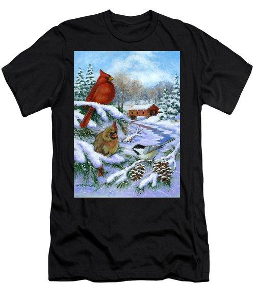 Christmas Creek Men's T-Shirt (Athletic Fit)