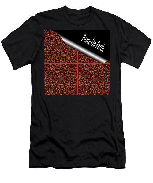 Christmas Gift Wrapping Men's T-Shirt (Athletic Fit)