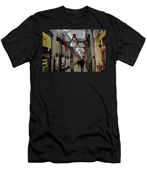 Christmas In Piccadilly Arcade Men's T-Shirt (Athletic Fit)