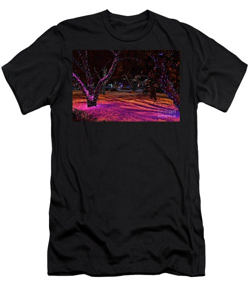 Christmas In The Park Men's T-Shirt (Athletic Fit)