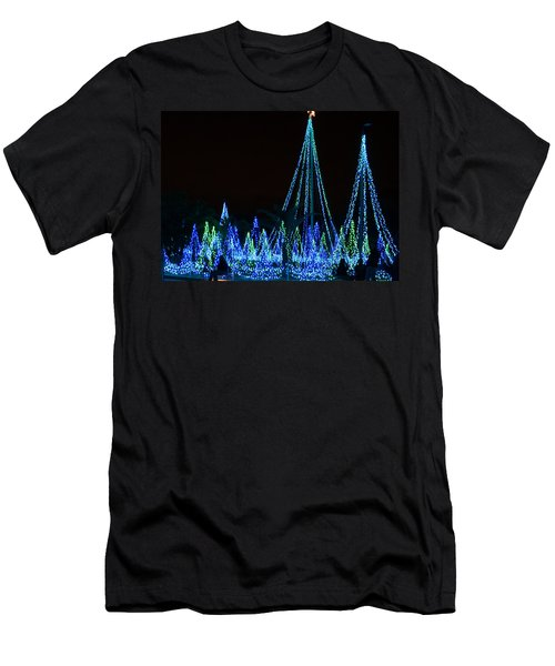Christmas Lights 1 Men's T-Shirt (Athletic Fit)