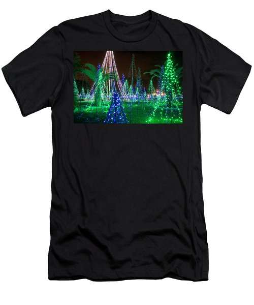 Christmas Lights 2 Men's T-Shirt (Athletic Fit)