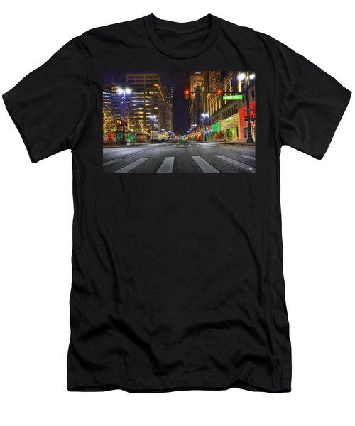Christmas On Woodward Men's T-Shirt (Athletic Fit)