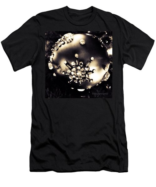 Christmas Ornament In Black And White Men's T-Shirt (Athletic Fit)