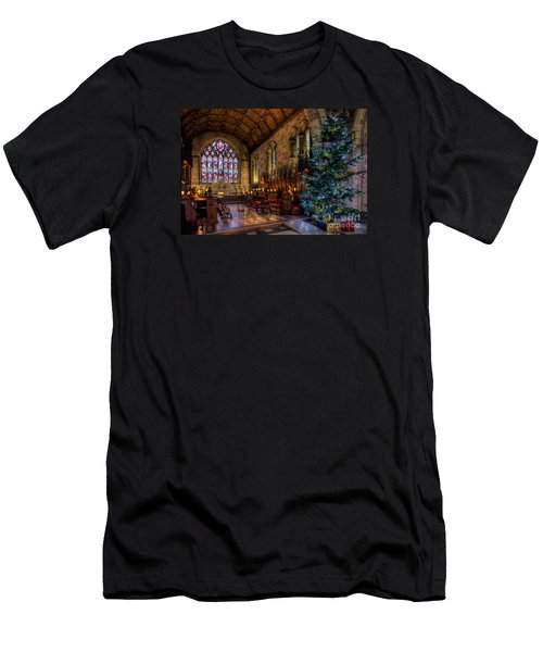 Christmas Time Men's T-Shirt (Slim Fit) by Adrian Evans