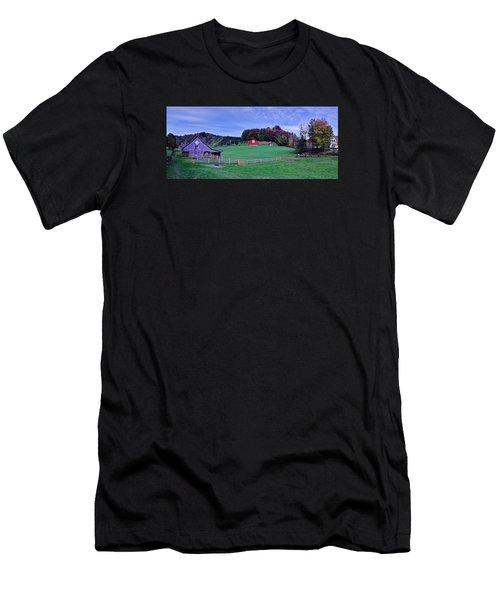 Christmas Tree Farm Men's T-Shirt (Athletic Fit)