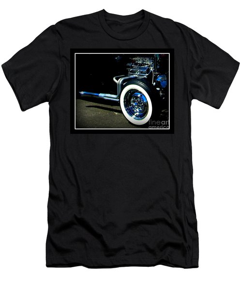 Men's T-Shirt (Slim Fit) featuring the photograph Chrome  by Bobbee Rickard