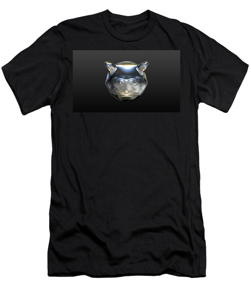 Chrome Cat Men's T-Shirt (Athletic Fit)