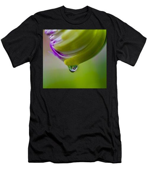 Raindrop Bud Men's T-Shirt (Athletic Fit)