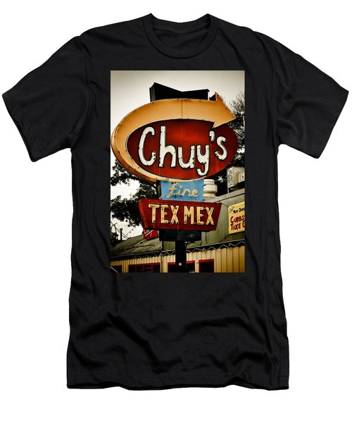 Chuy's Sign 2 Men's T-Shirt (Athletic Fit)