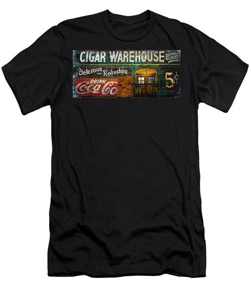 Cigar Warehouse Men's T-Shirt (Athletic Fit)