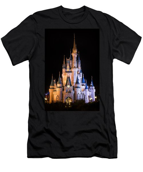 Cinderella's Castle In Magic Kingdom Men's T-Shirt (Athletic Fit)