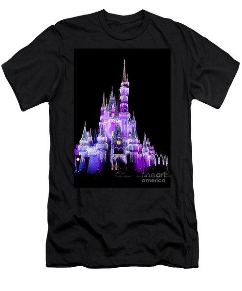 Cinderella's Castle Men's T-Shirt (Athletic Fit)