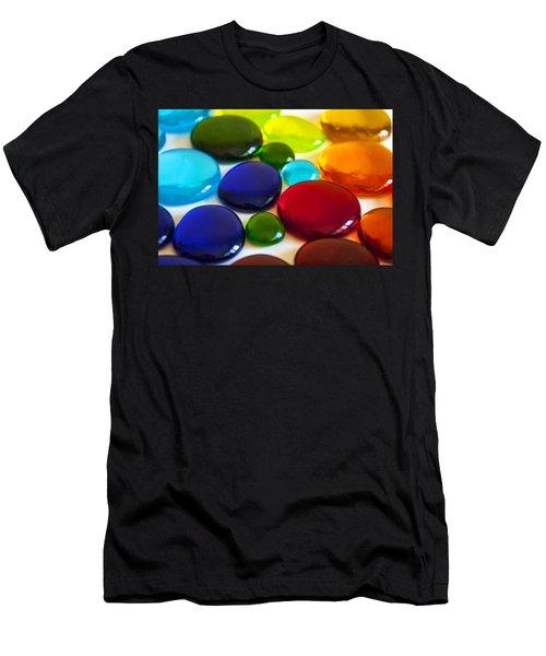 Circles Of Color Men's T-Shirt (Athletic Fit)