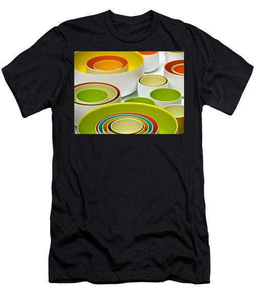 Men's T-Shirt (Slim Fit) featuring the photograph Circles Squared by Ira Shander