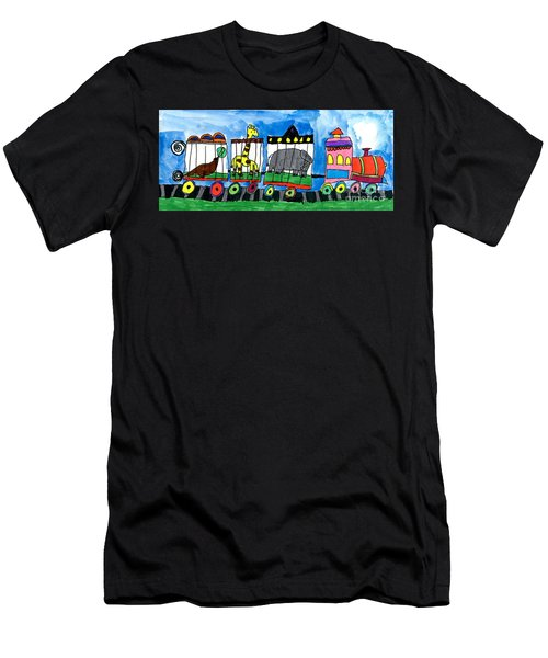 Circus Train Men's T-Shirt (Athletic Fit)