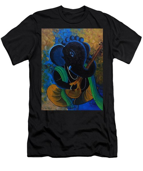 Citar Ganesha Men's T-Shirt (Athletic Fit)