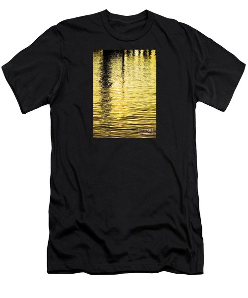 Citrine Ripples Men's T-Shirt (Slim Fit) by Chris Anderson