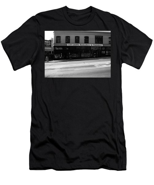 City Lights Booksellers Men's T-Shirt (Athletic Fit)