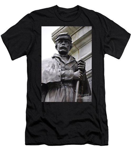 Civil War Memorial Men's T-Shirt (Athletic Fit)