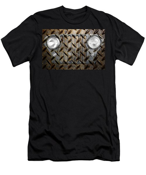 Civilian Jeep- Steel Gray Men's T-Shirt (Athletic Fit)