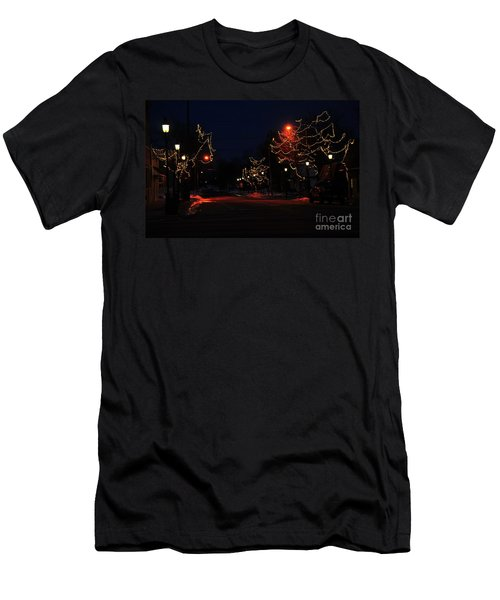 Clare Michigan At Christmas 12 Men's T-Shirt (Athletic Fit)