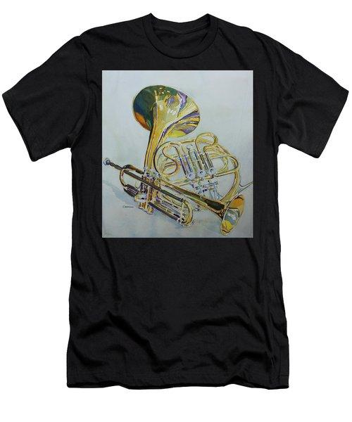 Classic Brass Men's T-Shirt (Athletic Fit)