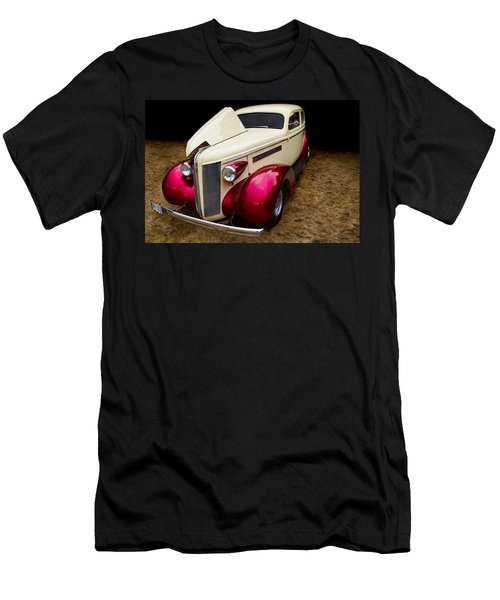 Men's T-Shirt (Slim Fit) featuring the photograph Classic Car - 1937 Buick Century by Peggy Collins