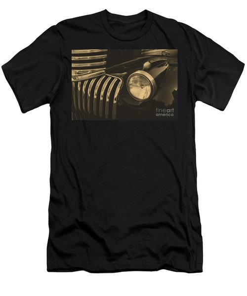 Men's T-Shirt (Slim Fit) featuring the photograph Classic Chevy One by John S