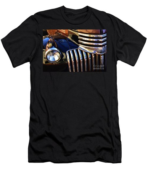 Men's T-Shirt (Slim Fit) featuring the photograph Classic Chevy Two by John S