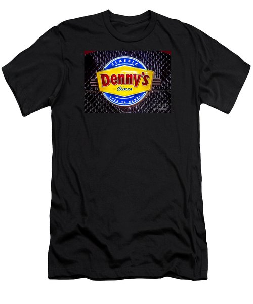 Classic Dennys Diner Sign Men's T-Shirt (Athletic Fit)