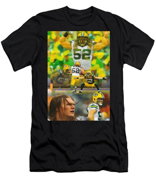 Clay Matthews A Collage Men's T-Shirt (Athletic Fit)