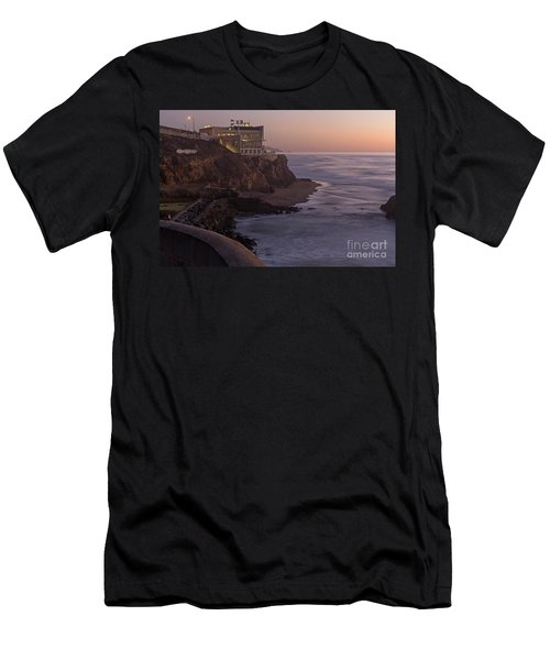 Cliff House Sunset Men's T-Shirt (Athletic Fit)