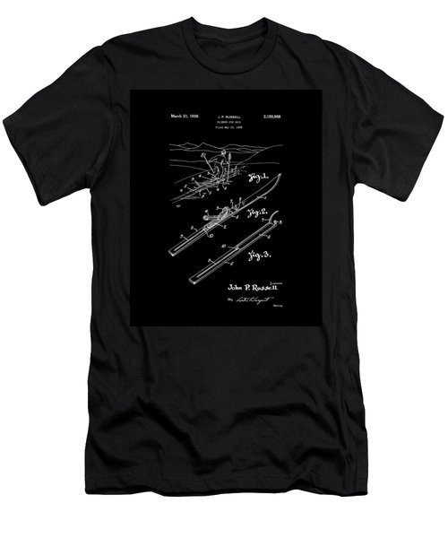 Climber For Skis 1939 Russell Patent Art Men's T-Shirt (Athletic Fit)