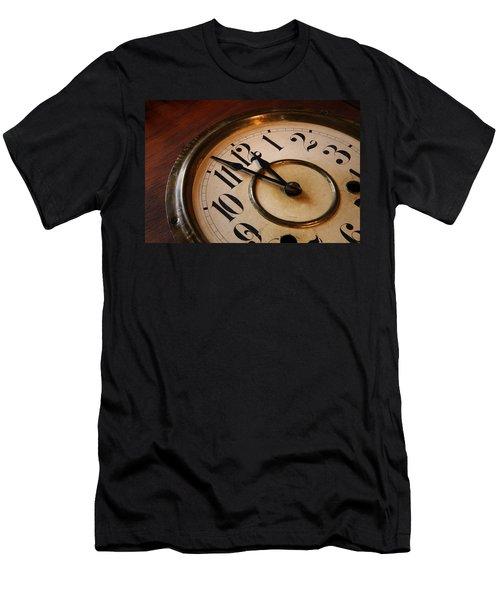 Clock Face Men's T-Shirt (Athletic Fit)