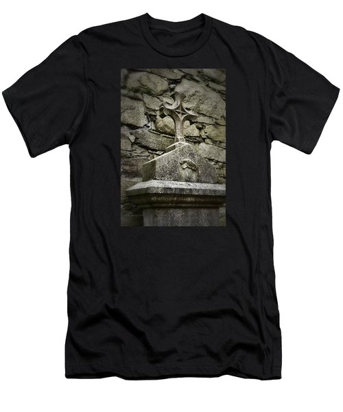 Cloister Cross At Jerpoint Abbey Men's T-Shirt (Athletic Fit)