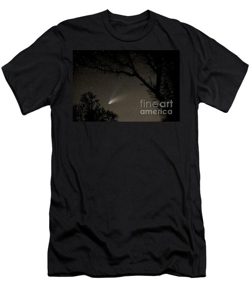 Men's T-Shirt (Slim Fit) featuring the photograph Close Encounter by Nick  Boren