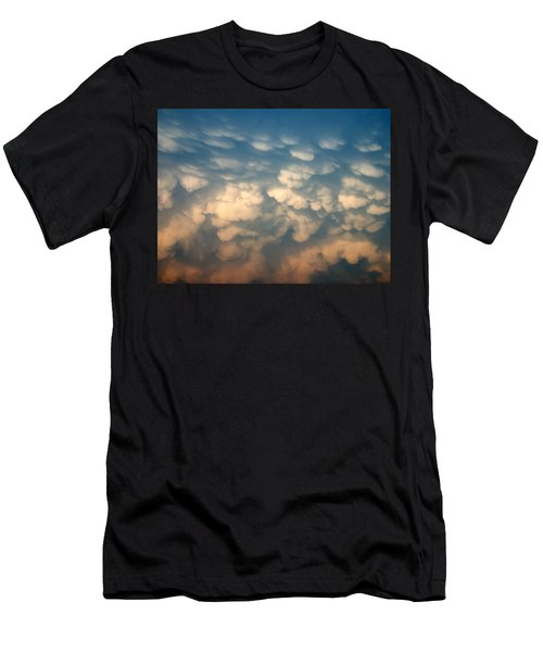 Cloud Texture Men's T-Shirt (Athletic Fit)