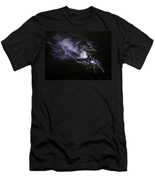 Cloud To Ground Men's T-Shirt (Athletic Fit)