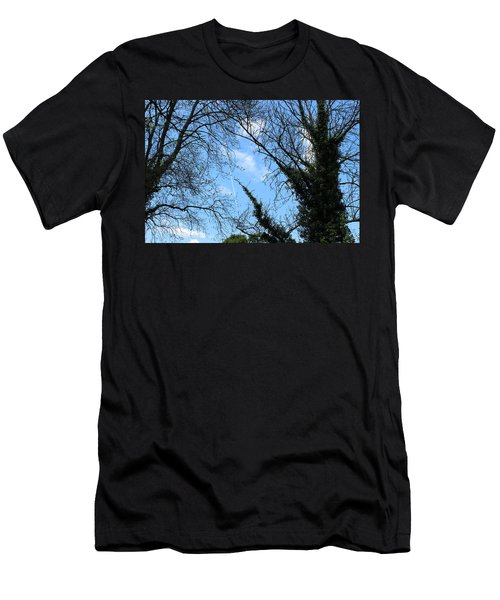 Clouds In The Sky Men's T-Shirt (Athletic Fit)
